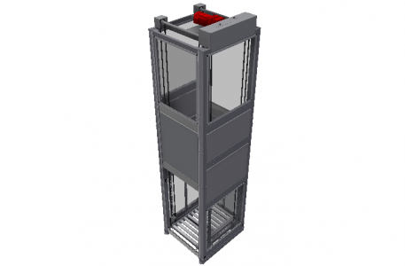 Vertikaltransportörer IVRE 80 intersystem