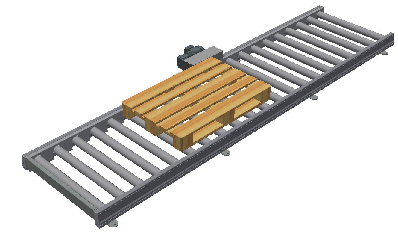 Low-build roller conveyor IRKS 80