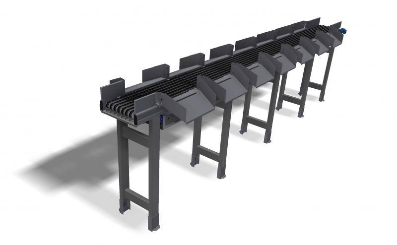 Narrow belt sorter IBSV 50