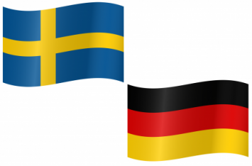Sweden and Germany is dominating