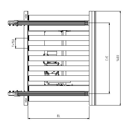 IRXV 80-Elektrisk Blueprint