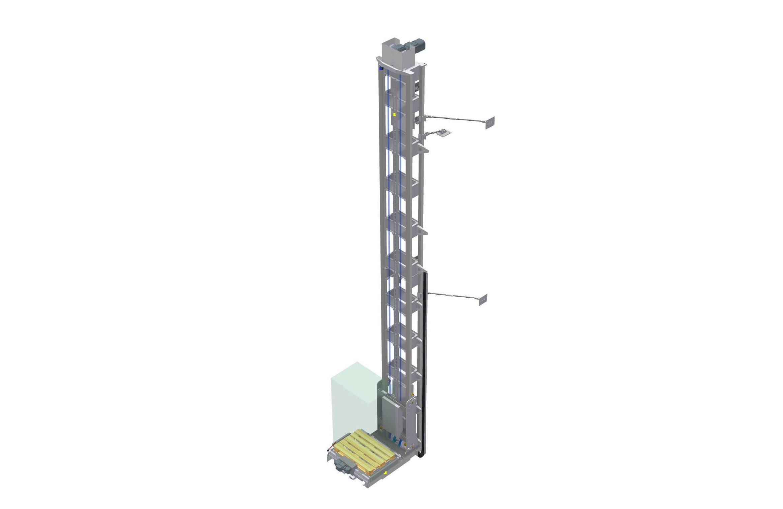 Vertikaltransportör IVRE 80